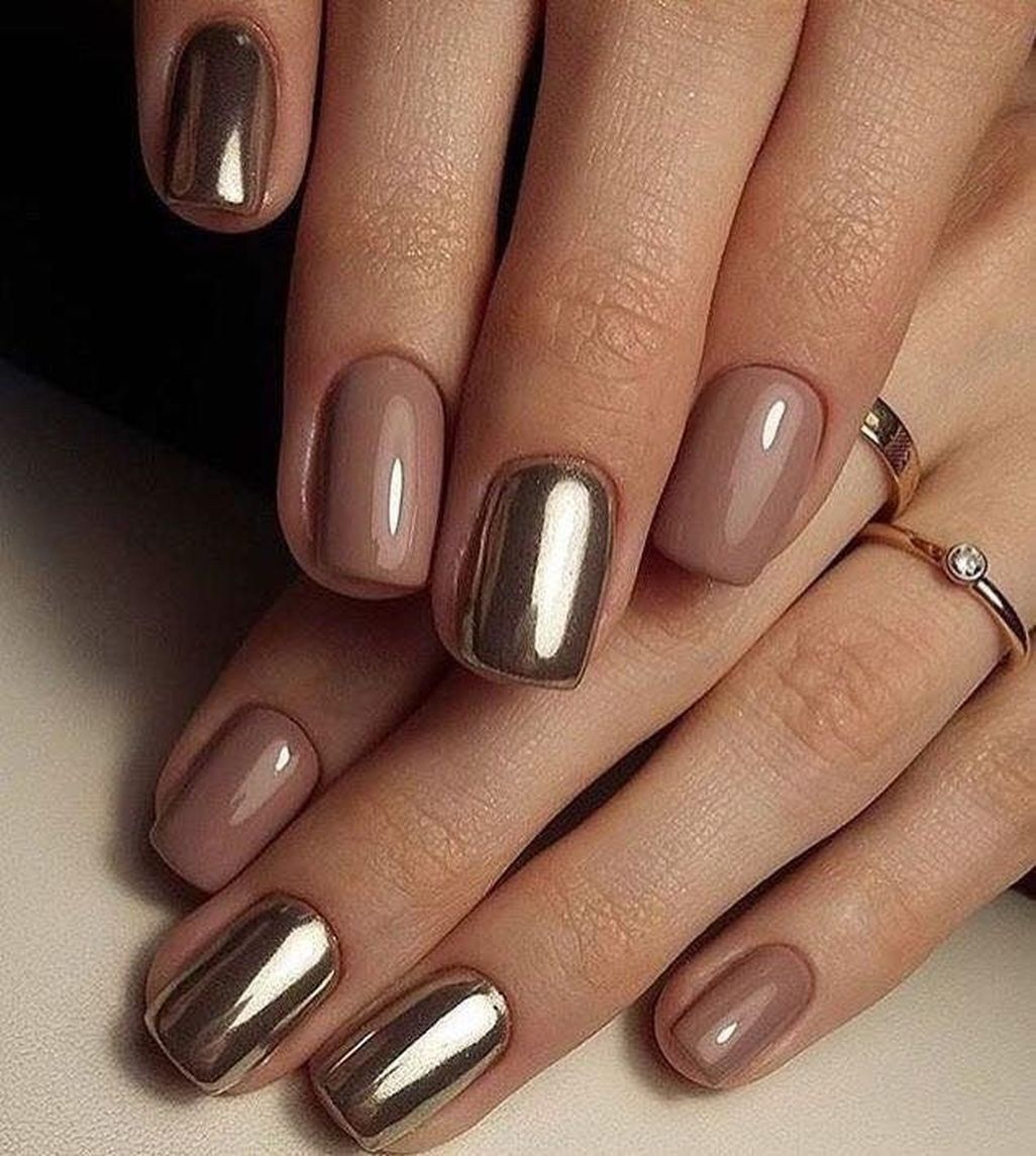 Wonderful Short Nail Designs You Must Love 18 Bezove Nehty