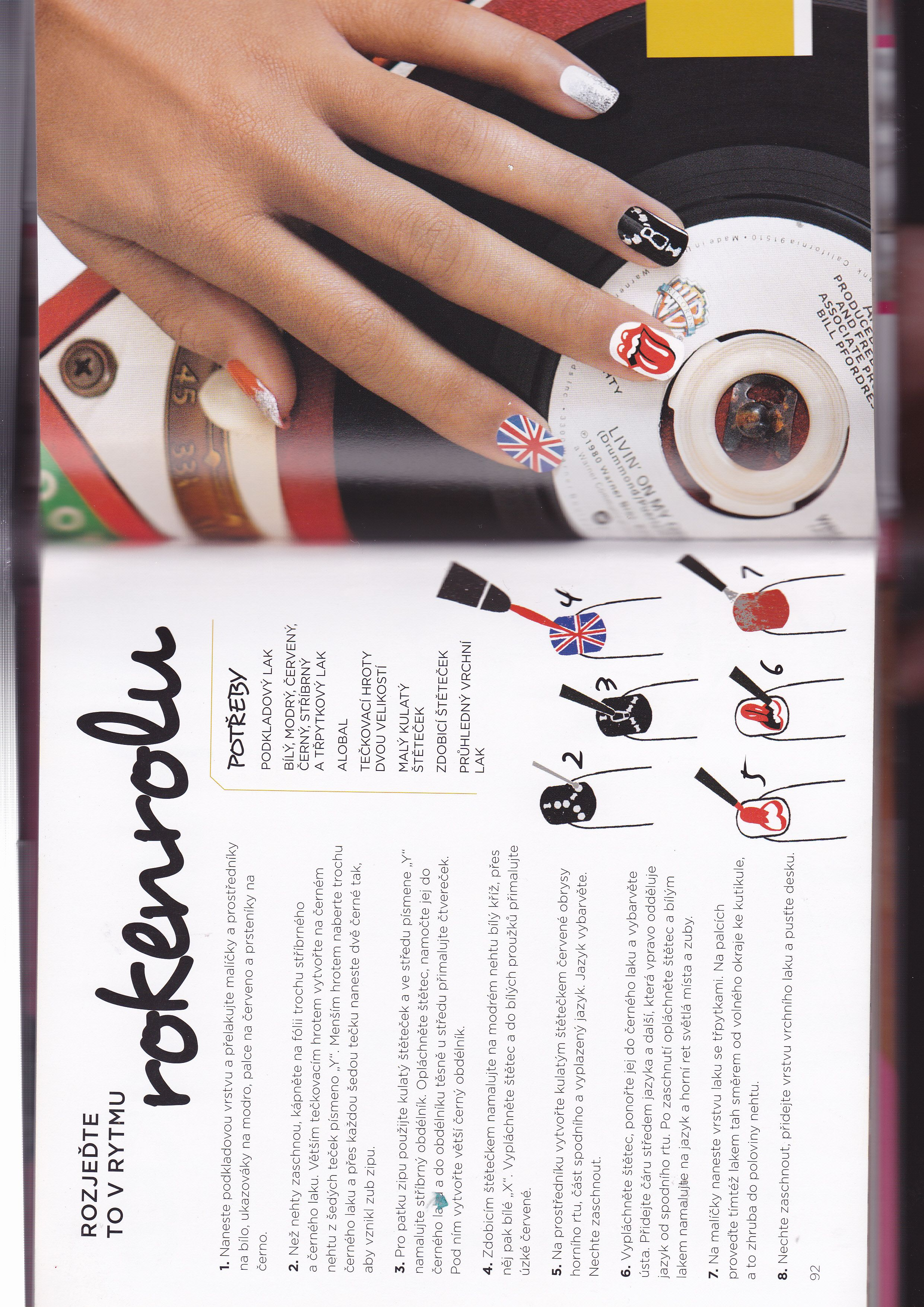 Pin Uzivatele Alis Na Nastence Nails Renovace
