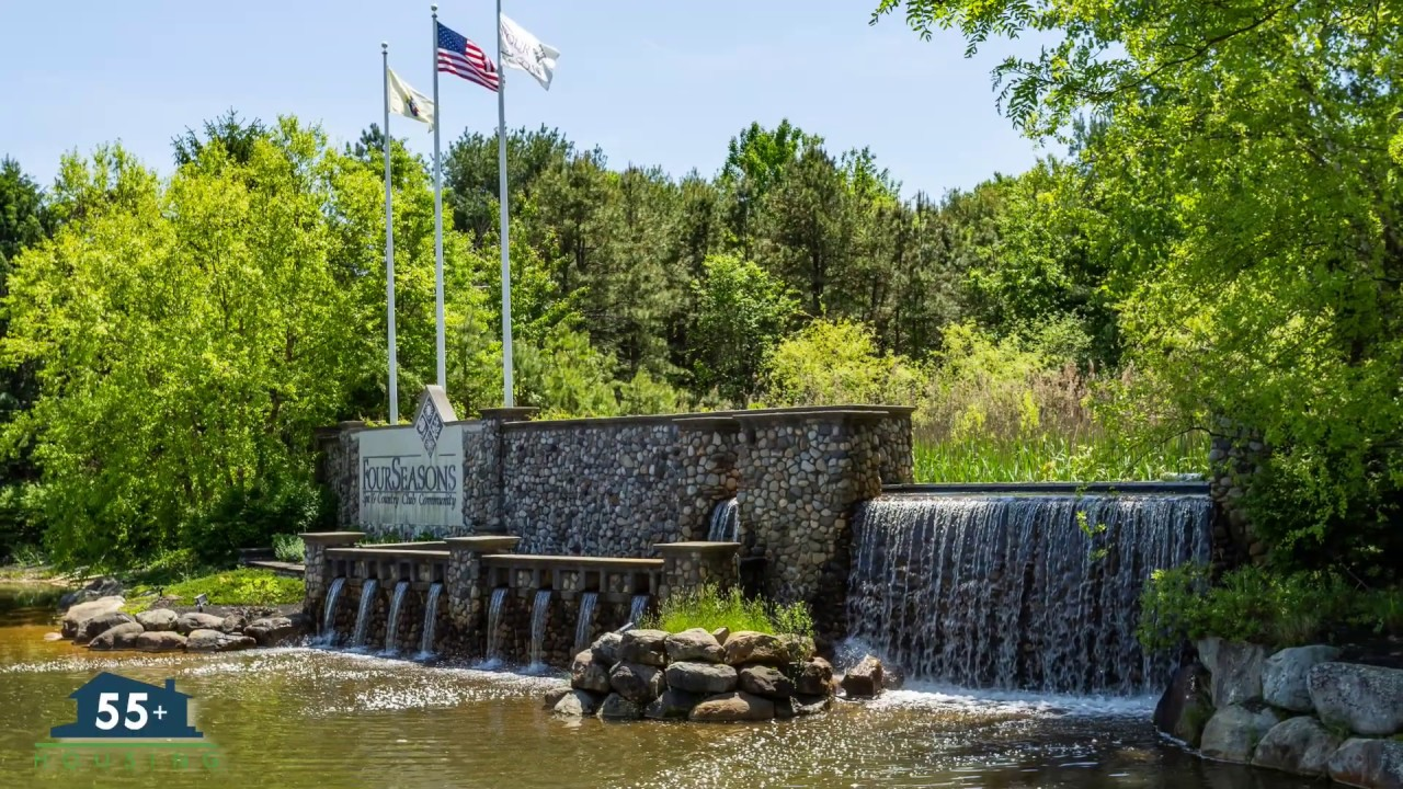Four Seasons Golf Country Club Adult Community In Lakewood Nj Youtube