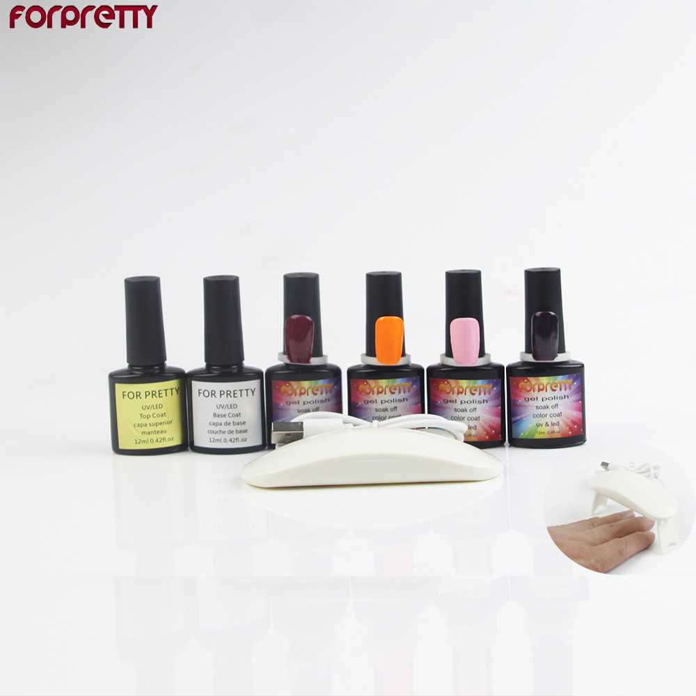Nail Art Gel Polish Set With Uv Lamp Manicure Zesto Do Paznokci Z Lampa Unhas Gellak Ferramentas Manucure Complet Manicura Kit Aliexpress