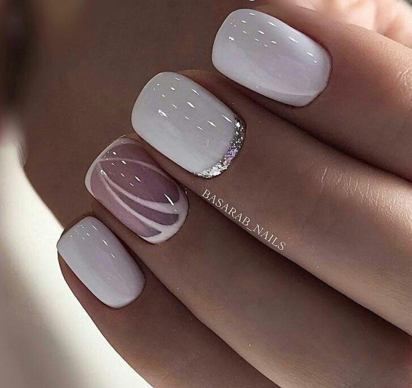 Beautiful For Wedding Day Gelove Nehty Design Nehtu Kratke Nehty