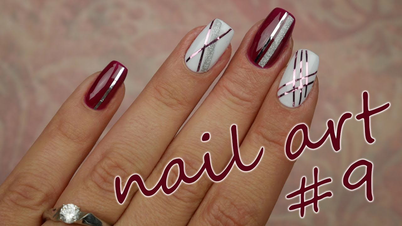 Nail Art 9 Podzimni Nailart Youtube