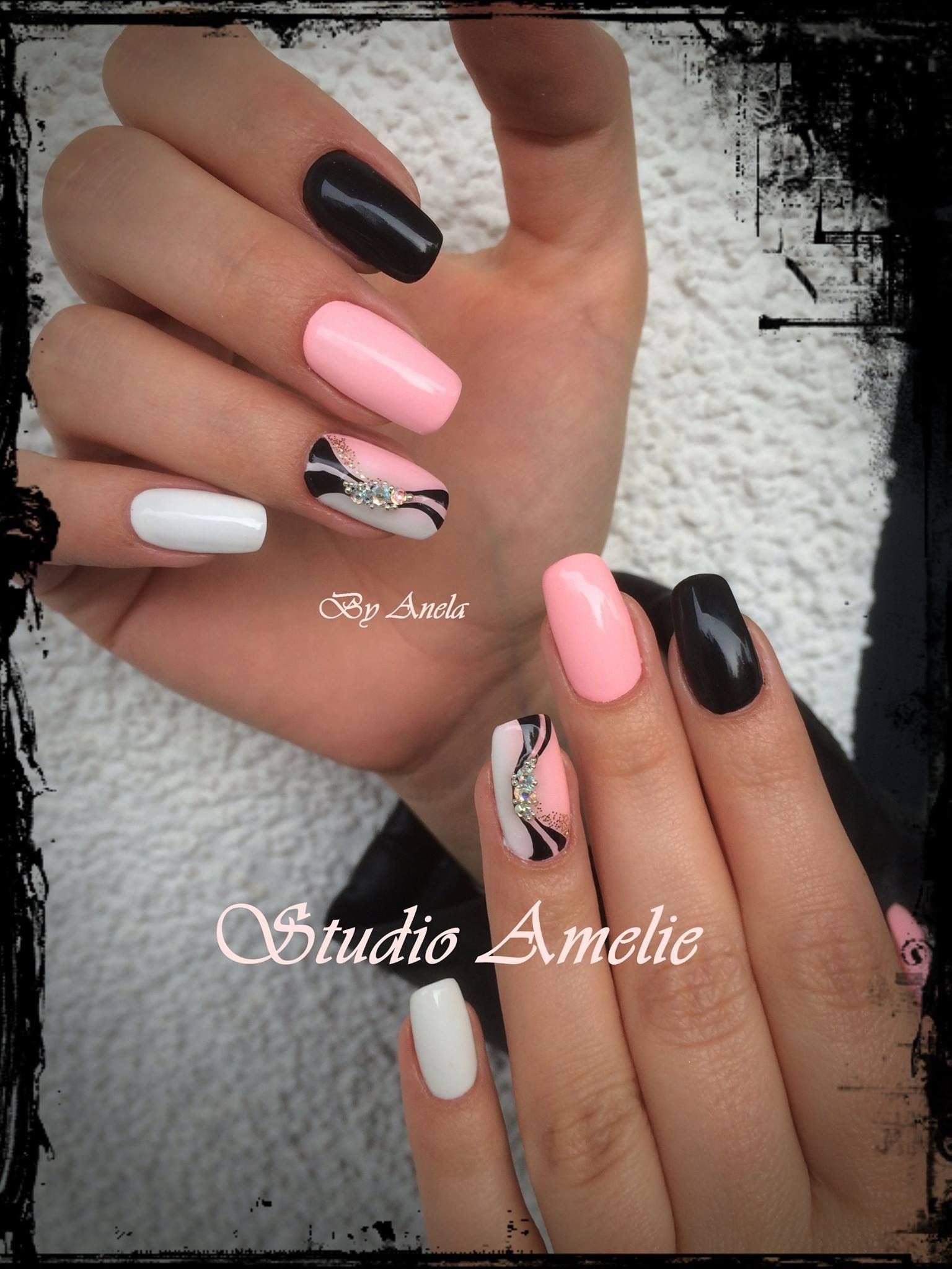 Fab Nails With Images Gelove Nehty Design Nehtu Nehty