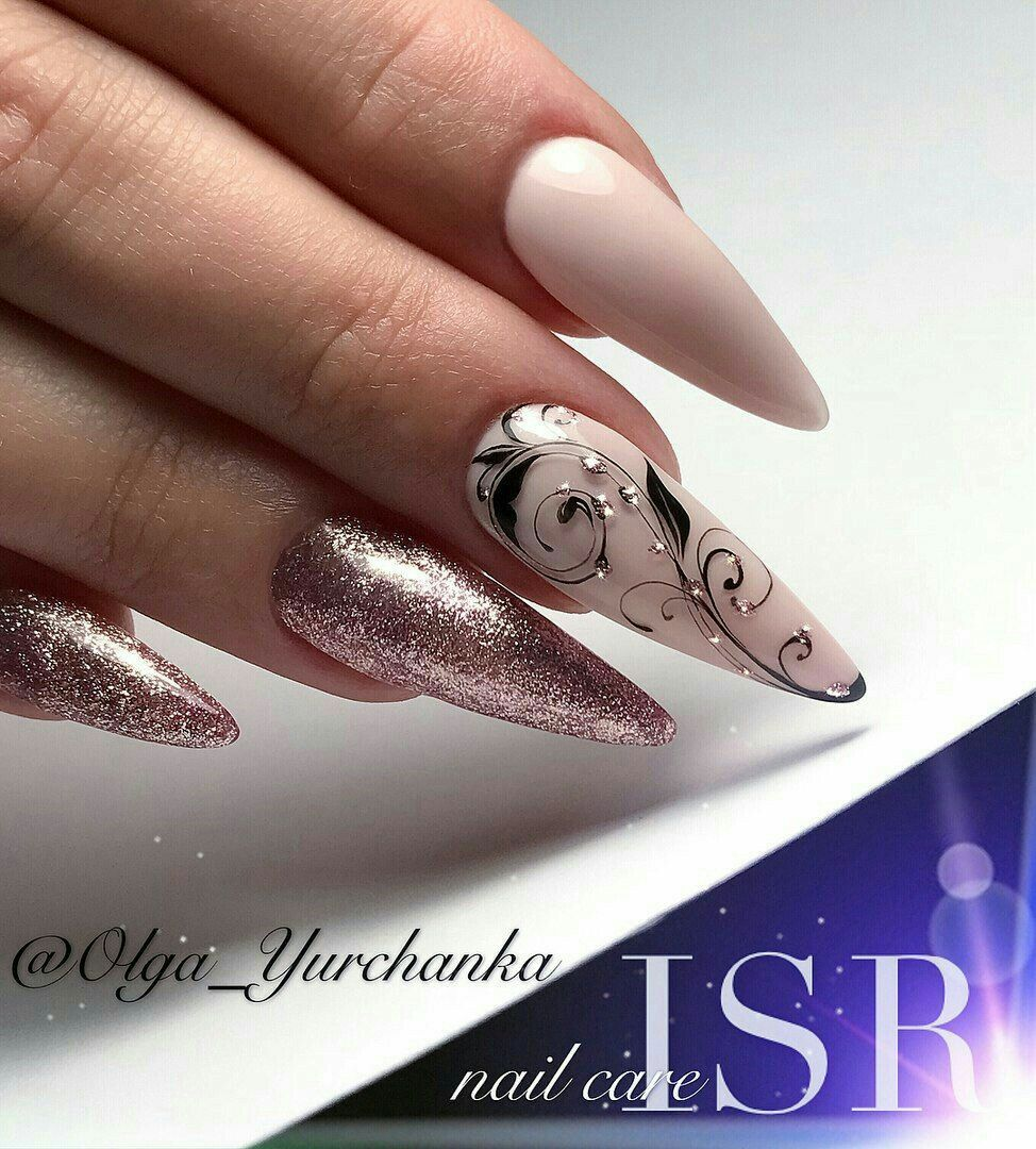90 Unique And Beautiful Nail Art Designs Gelove Nehty Design Nehtu Gelove Nehty A Manikura