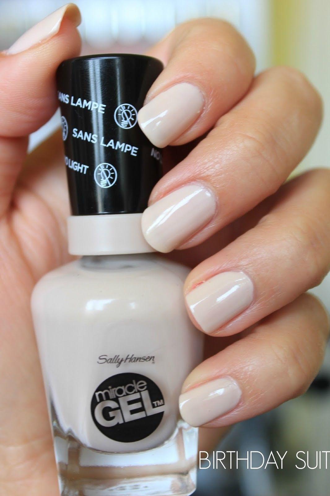 3 29 Sally Hansen Miracle Gel 5 Fl Oz Birthday Suit 219 Ebay Fashion Sally Hansen Gel Sally Hansen Gel Nails Sally Hansen Nails