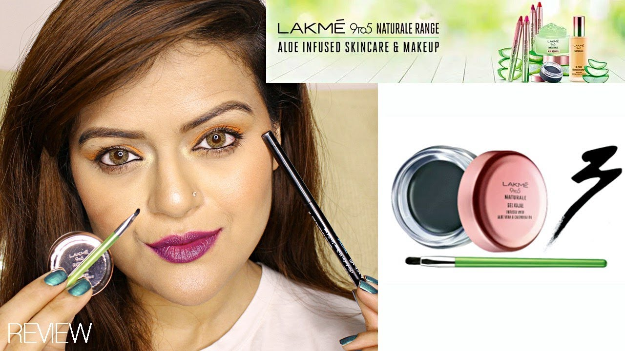 Lakme 9 To 5 Naturale Gel Kajal First Impressions Review Better Than Lakme Eyeconic Kajal Youtube