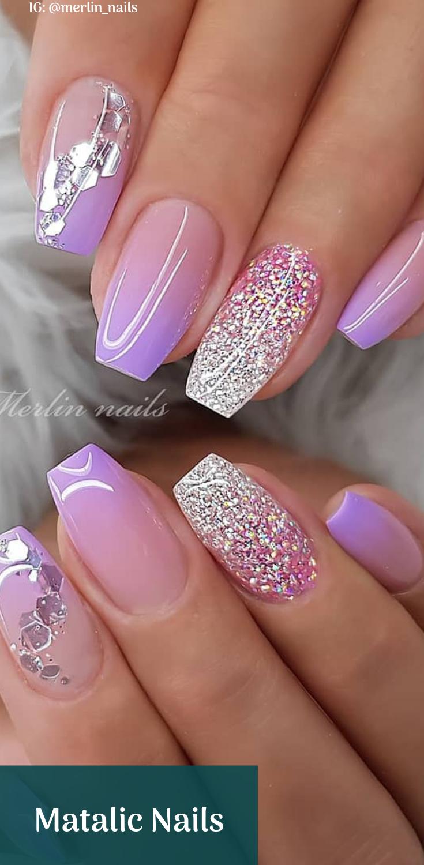 15 Pretty Nail Art Designs 2019 Ombre Nehty Gelove Nehty Barevne Nehty
