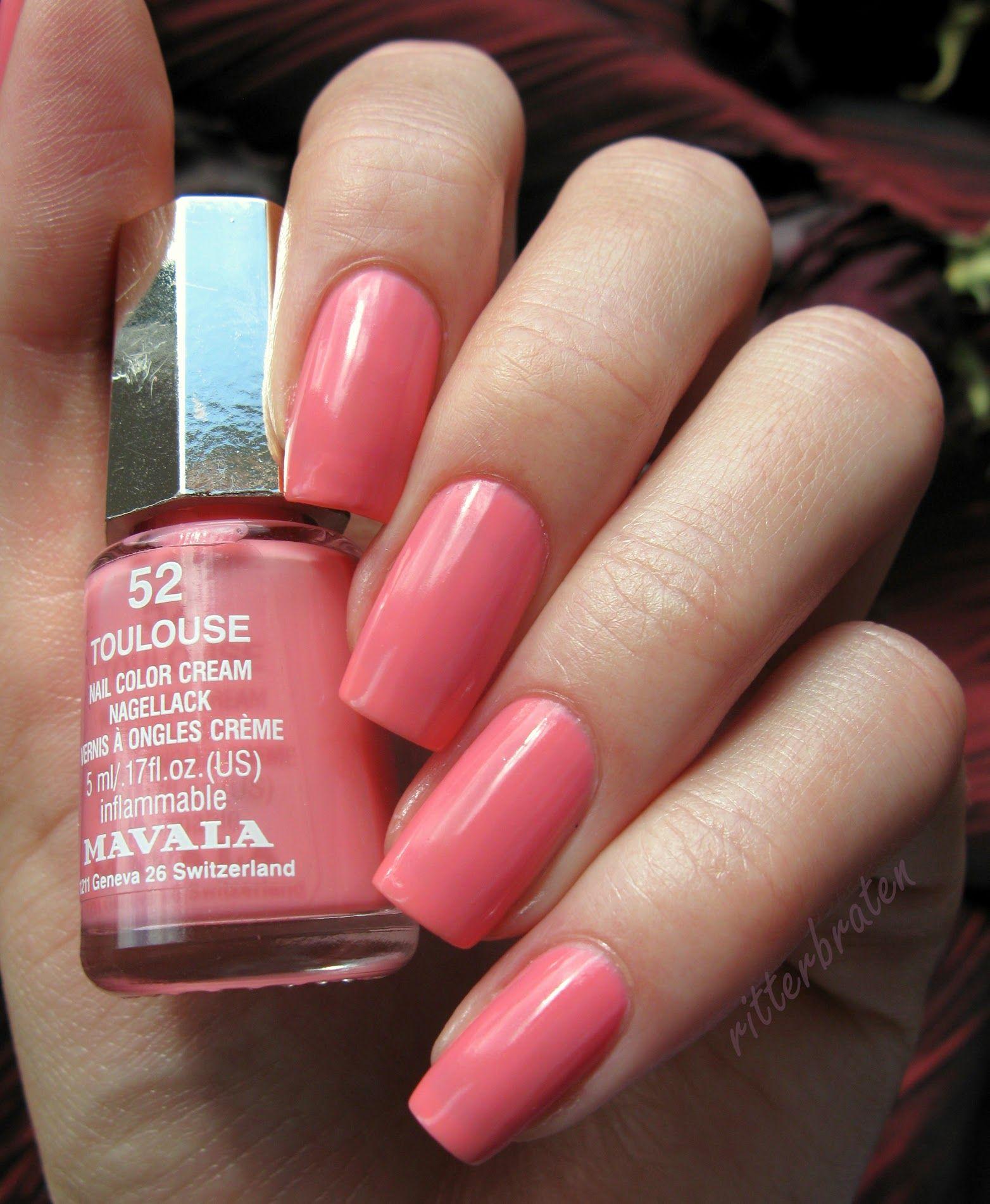 Toulouse Nail Polish Painted Toe Nails Mavala Nail Polish