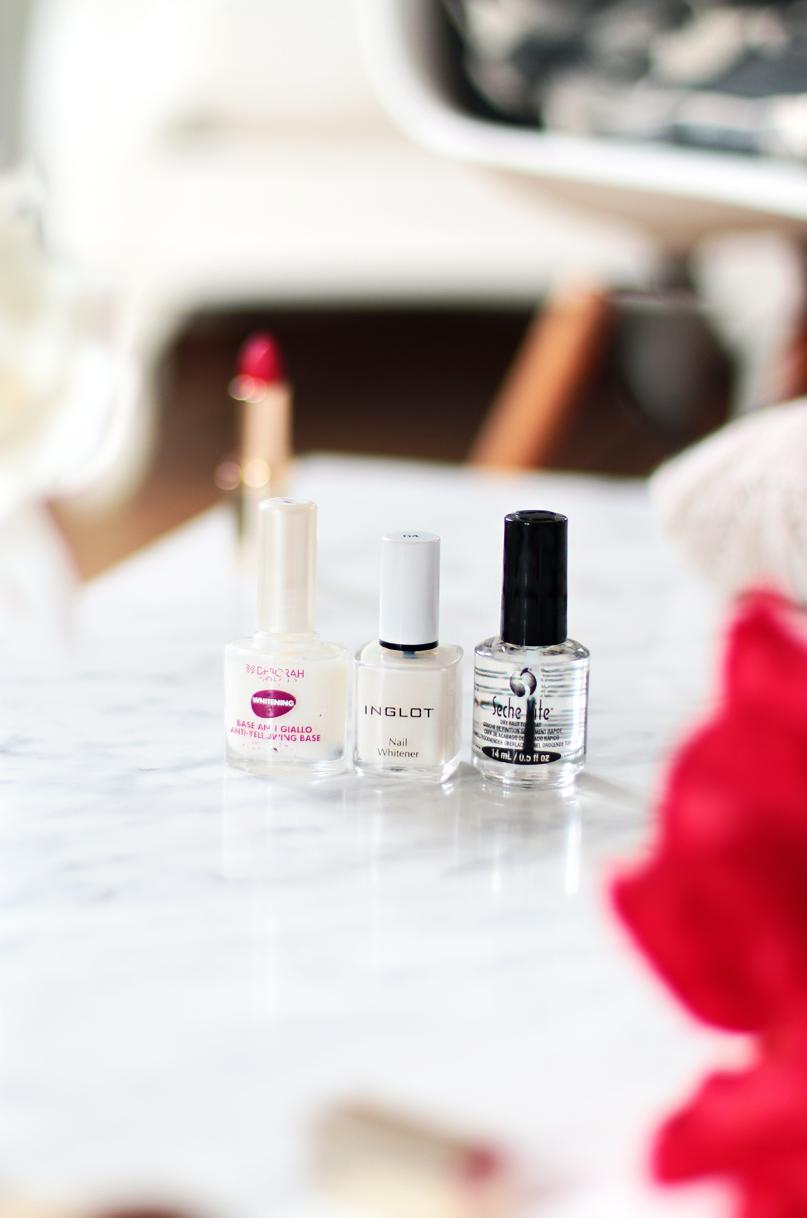 Alina Rose Blog Kosmetyczny Kiedy Nie Nosze Hybryd Ulubione Mleczne Lakiery Odzywki Zmywacze