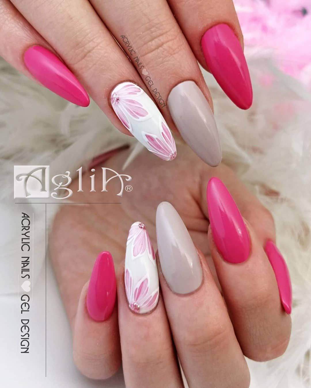 Pink Cupcake Color Gel Nature 2 White Supreme No Wipe Gel Lesk Extreme Top Shine Modelaz Acrylic System Aglia Koupite Si Na Gel Nails Nails Acrylic Nails