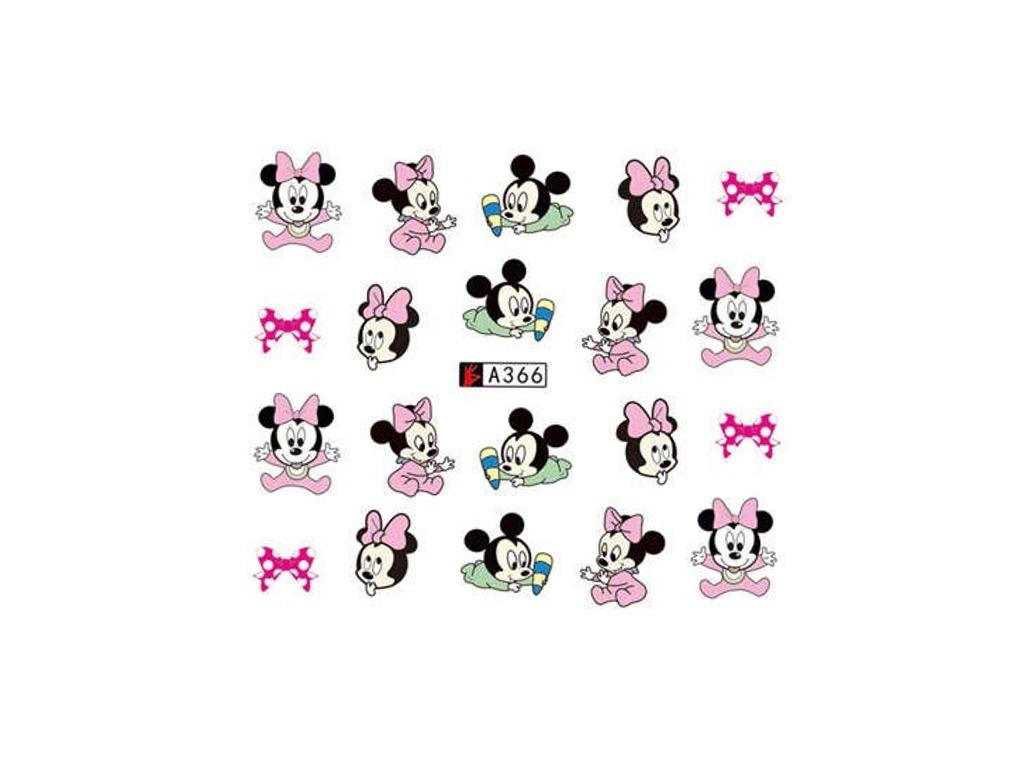 Vodolepky Na Nehty A366 Mickey Mouse