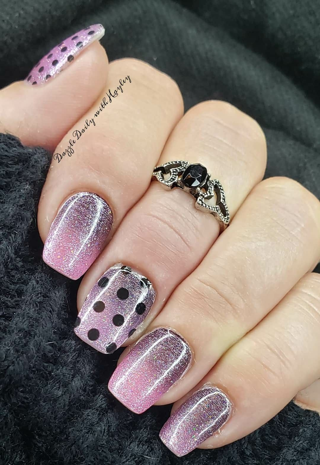 Pin By Lenka Keprtova On Color Street In 2020 Color Street Nails Art Deco Nails Nail Jewelry