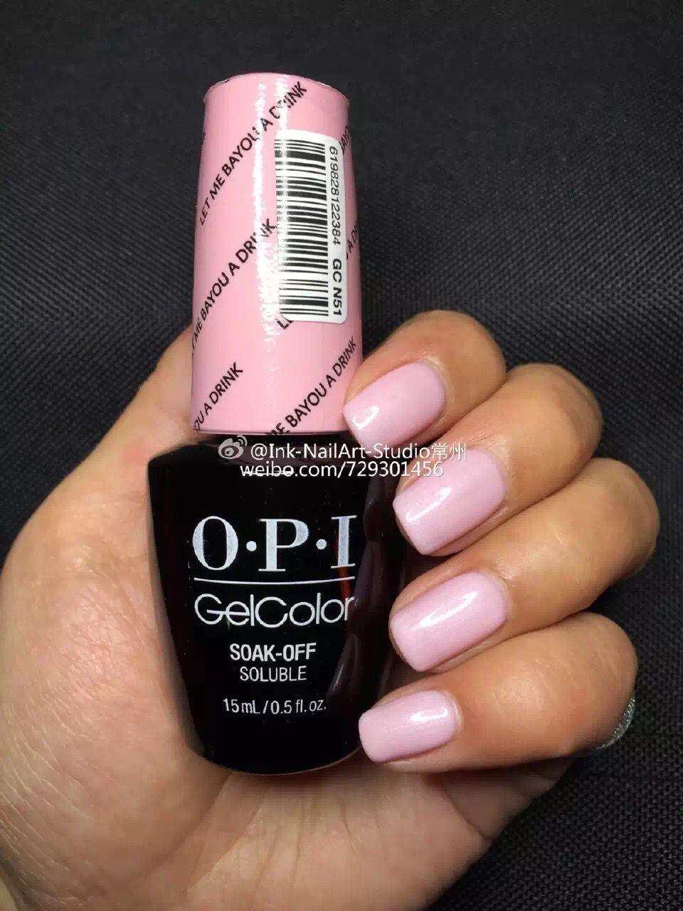 Opi New Orleans Opi Gel Nails Opi Gel Nail Colors Pink Gel Nails