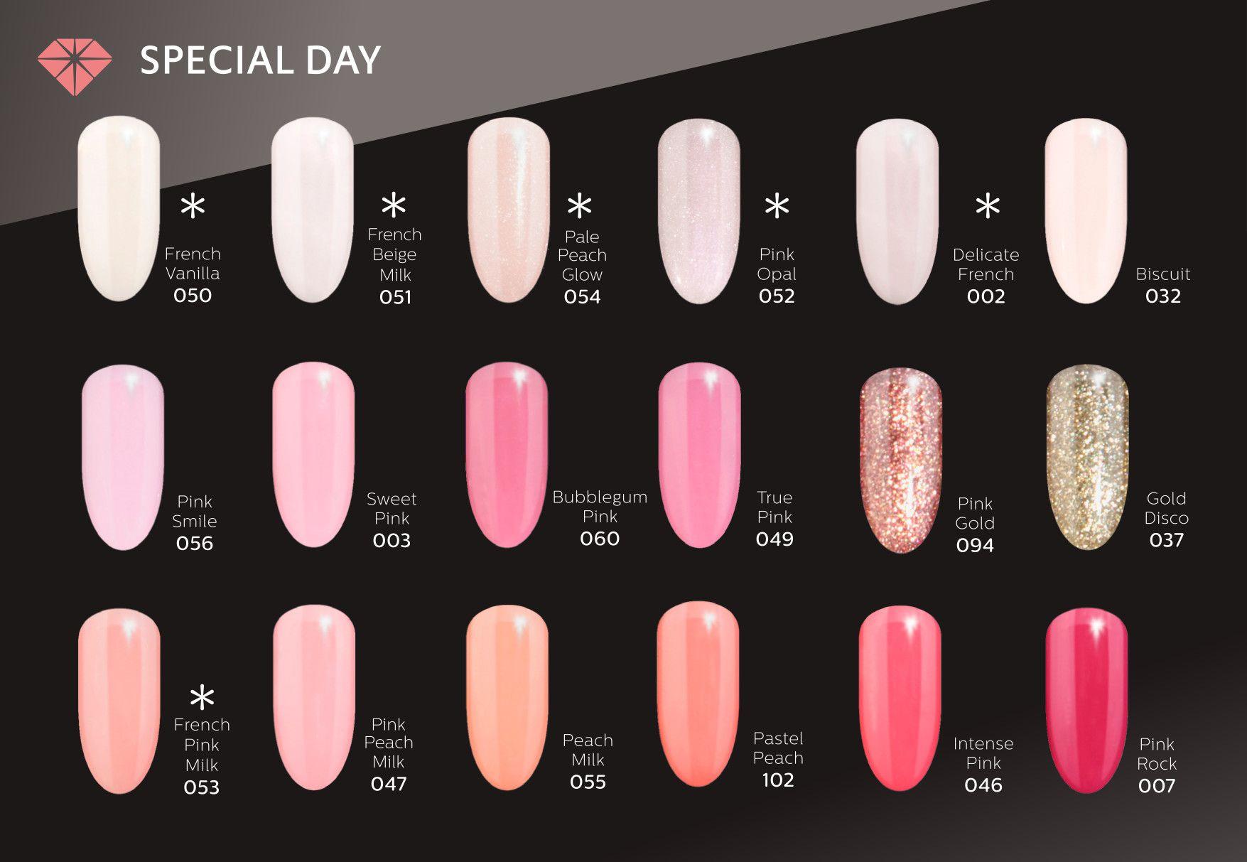 Semilac Special Day Pink Gel Nails Nails Gel Nails