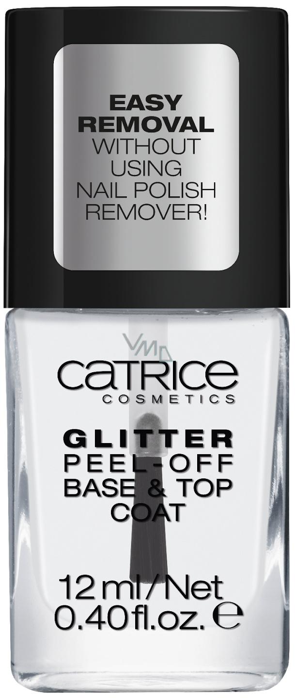 Catrice Dazzle Bomb Odlupovacie Podkladovy A Kryci Lak Glitter C01 Transparent 12 Ml Vmd Drogerie