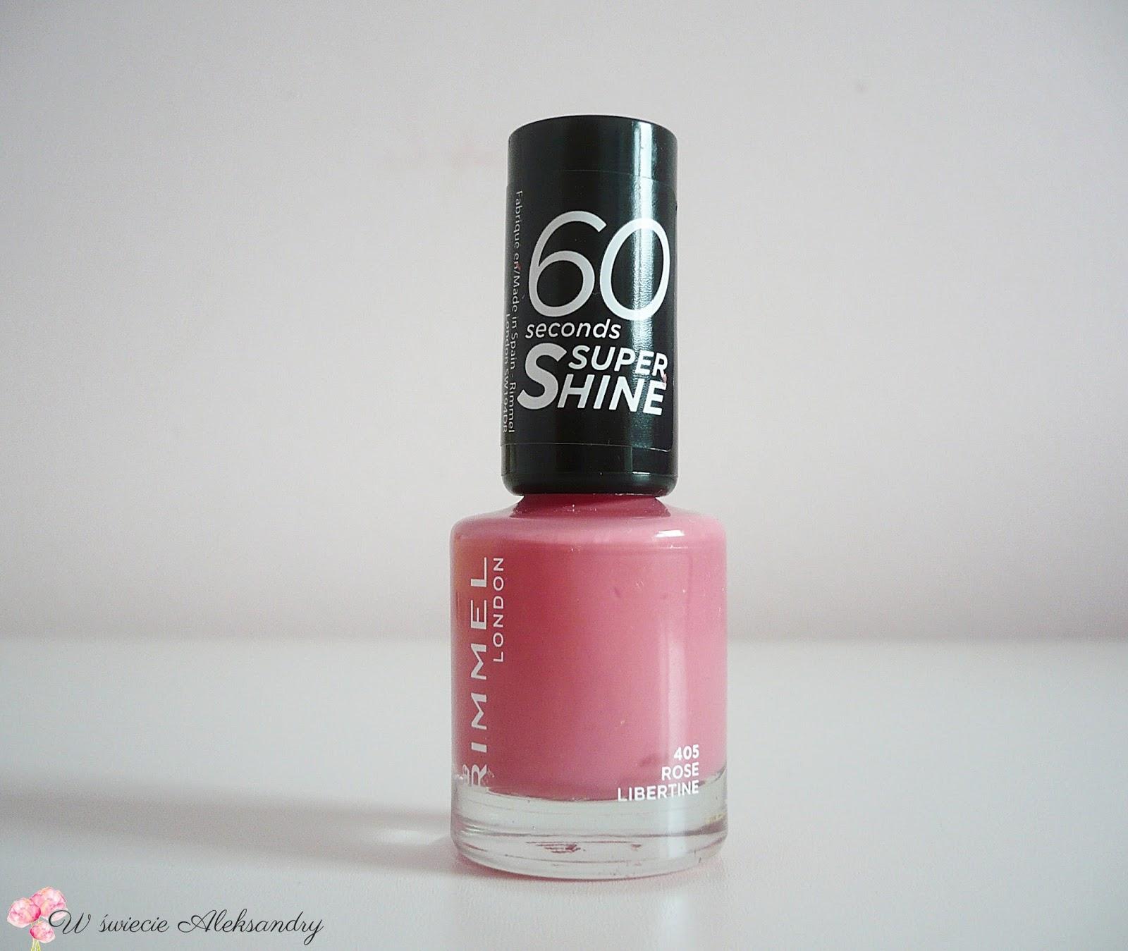 Swiat Aleksandry Rimmel 60 Seconds Super Shine 405