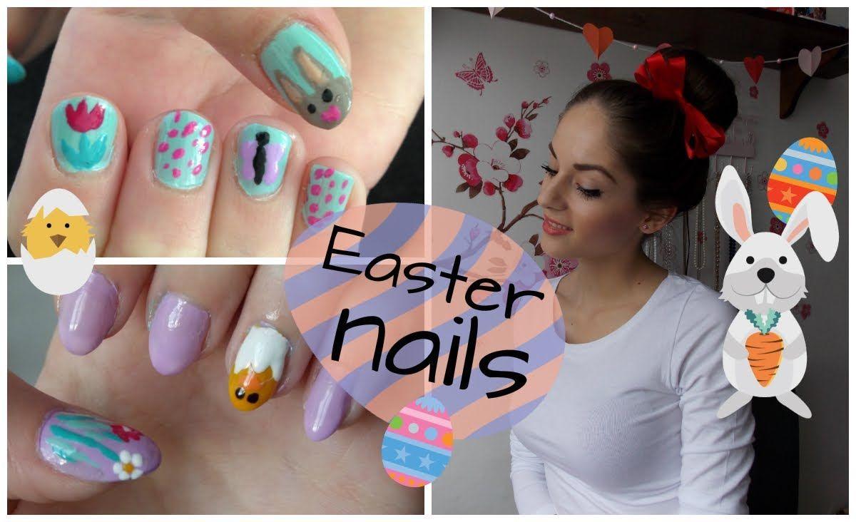 Tutorial Velikonocni Nehty Easter Nails Projekty Na Vyzkouseni Nehty