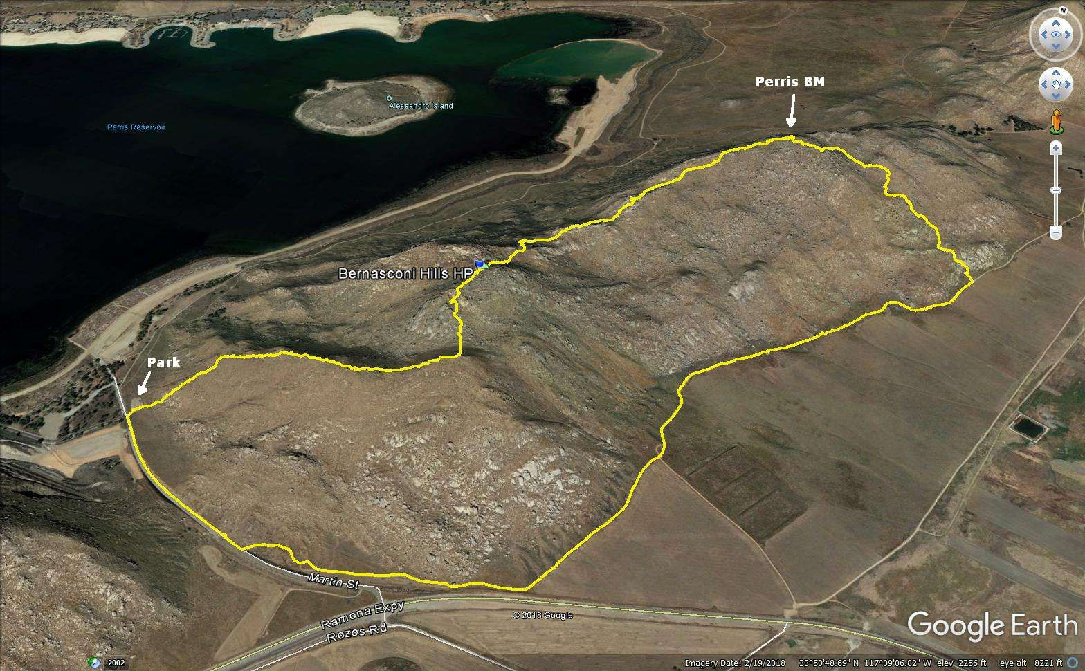 Iron Hiker Bernasconi Hills High Point And Perris Benchmark
