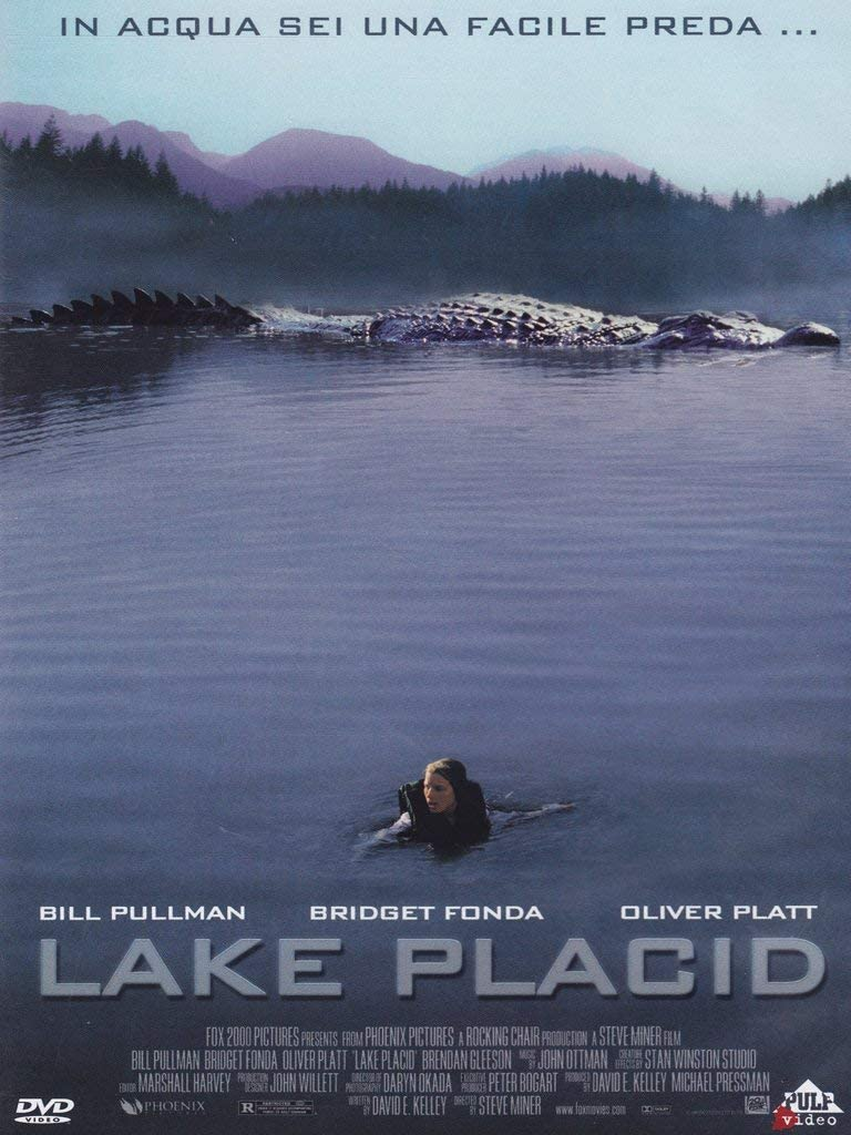 Lake Placid Amazon Co Uk Bridget Fonda Oliver Platt Steve Miner Dvd Blu Ray