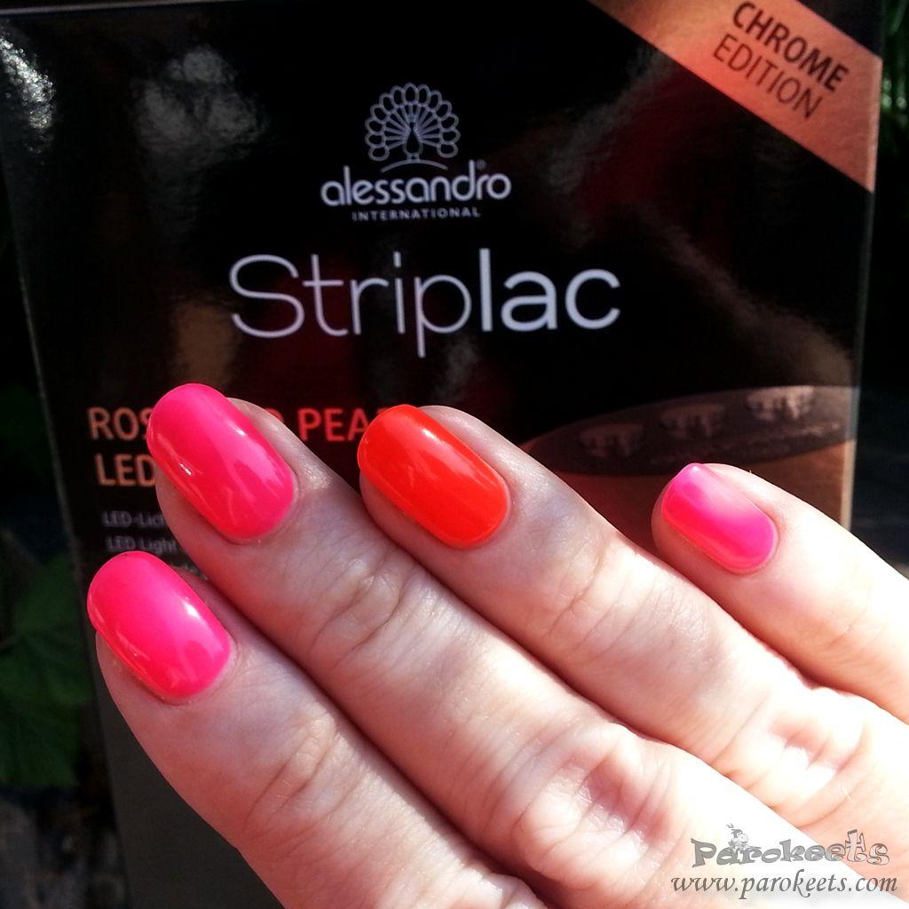 Alessandro Striplac Neon Funky Red Striplac