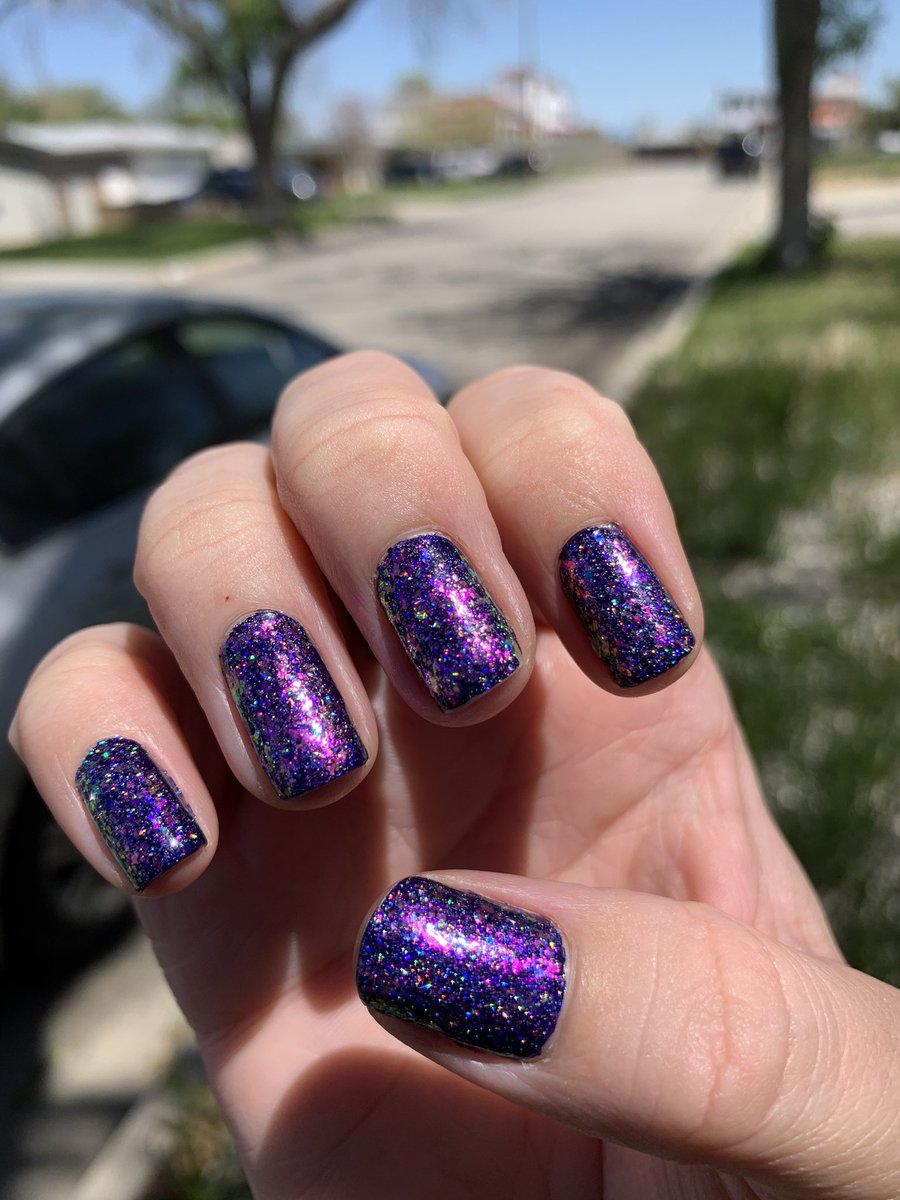 Uzivatel Holo Taco Na Twitteru We Re Obsessed With This Magical Combination Of Cosmic Unicorn Skin Flakie Holo Taco Over Indigo Away Have You Tried Layering Your Holo Tacos And Unicorn