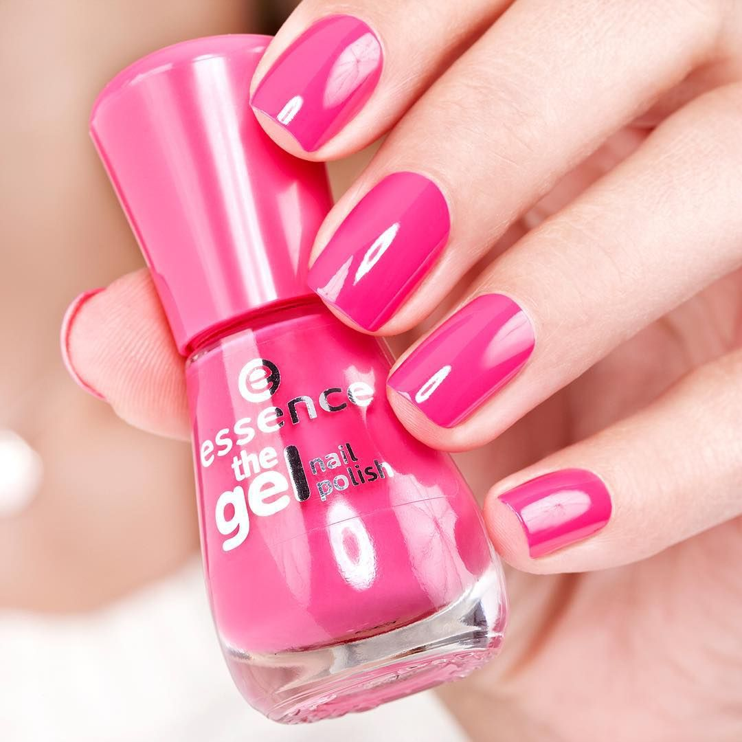 Essence Cosmetics On Instagram We Pink Nails With Our Gel Nail Polish 09 Lucky What S Your Favourite Colour Nail Polish Pretty Gel Nails Gel Nail Colors
