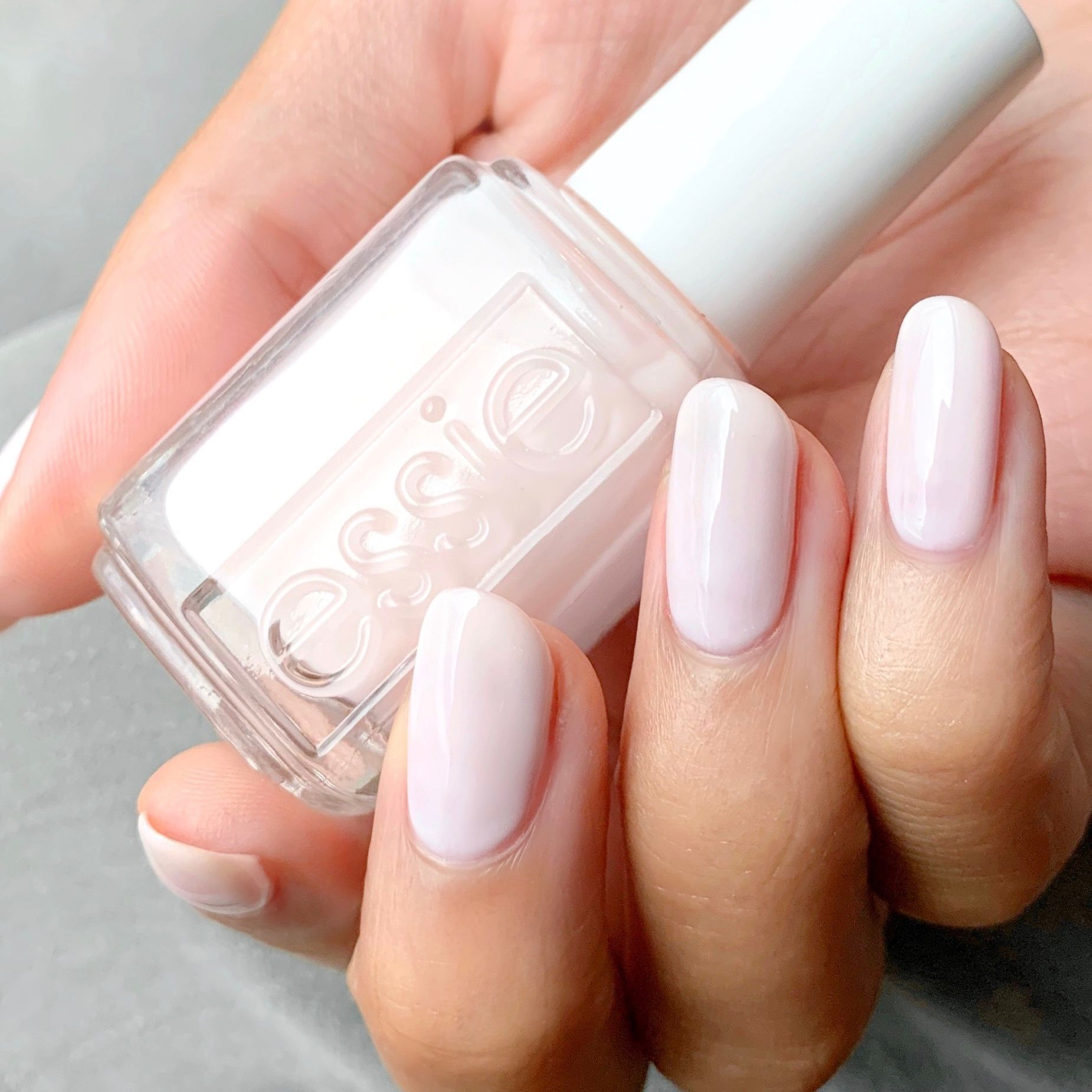 Essie Ballet Slippers A Classic Sheer Pale Pink Nail Polish Ballet Slippers Nail Polish Nail Colors For Pale Skin Pale Pink Nails