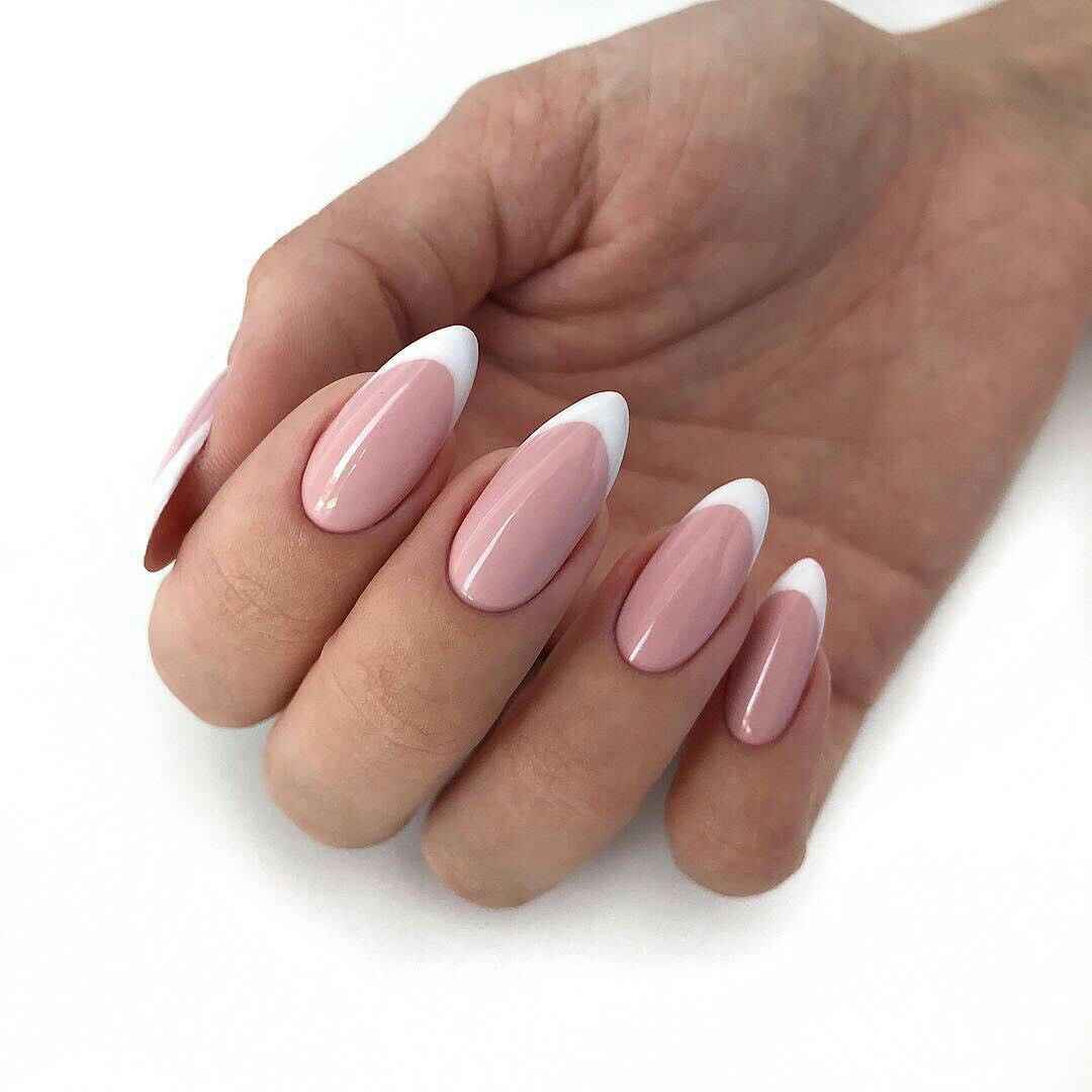Pin By Bozena On Unghii French Nail Art French Nails French Tip Nails