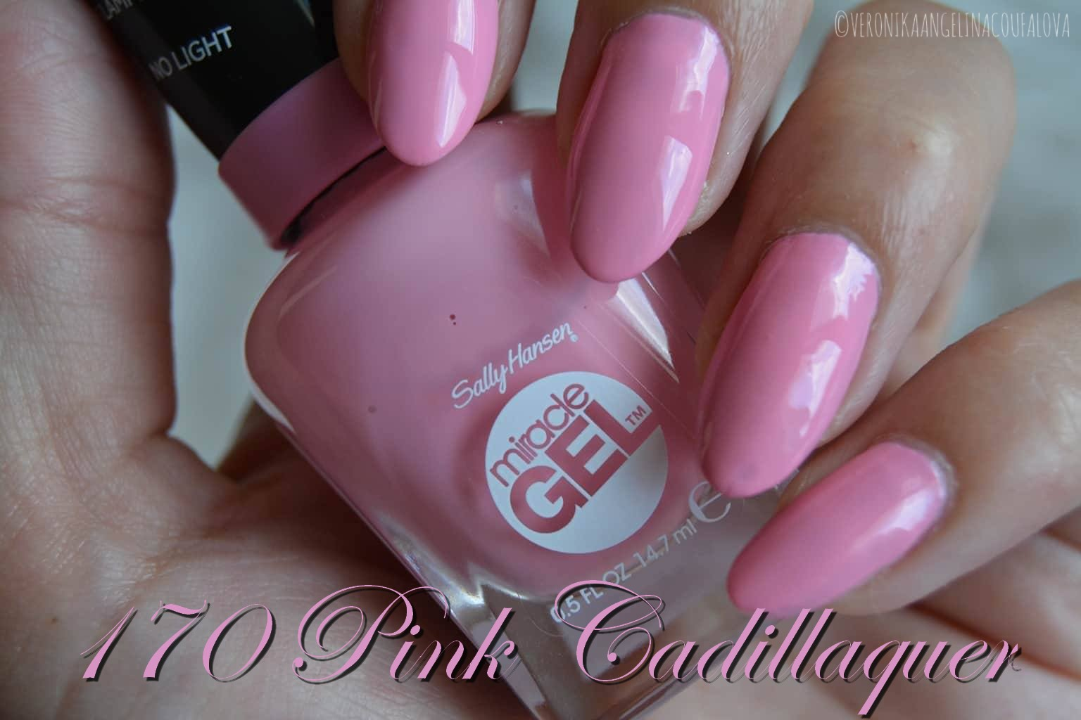 Angelina Beauty Blogger Sally Hansen Miracle Gel Gelovy Lak Na Nehty Bez Uziti Uv Led Lampy