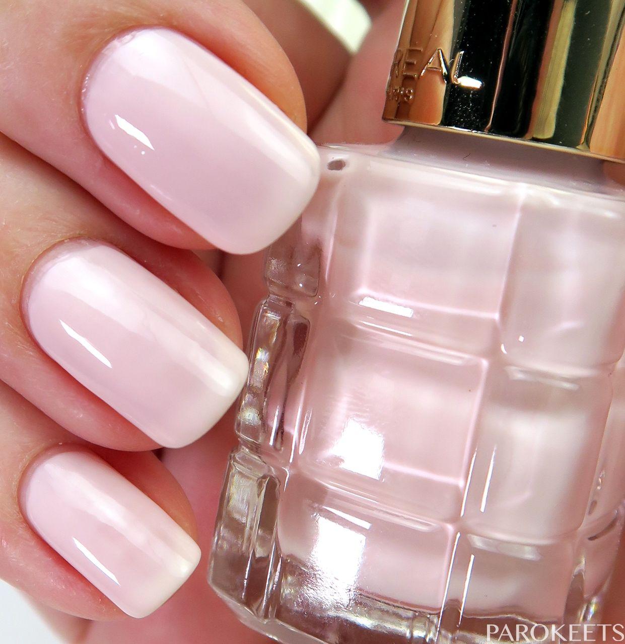 L Oreal Color Riche Le Vernis A L Huile Nail Polish Swatches Nail Polish Loreal Nail Polish Nails