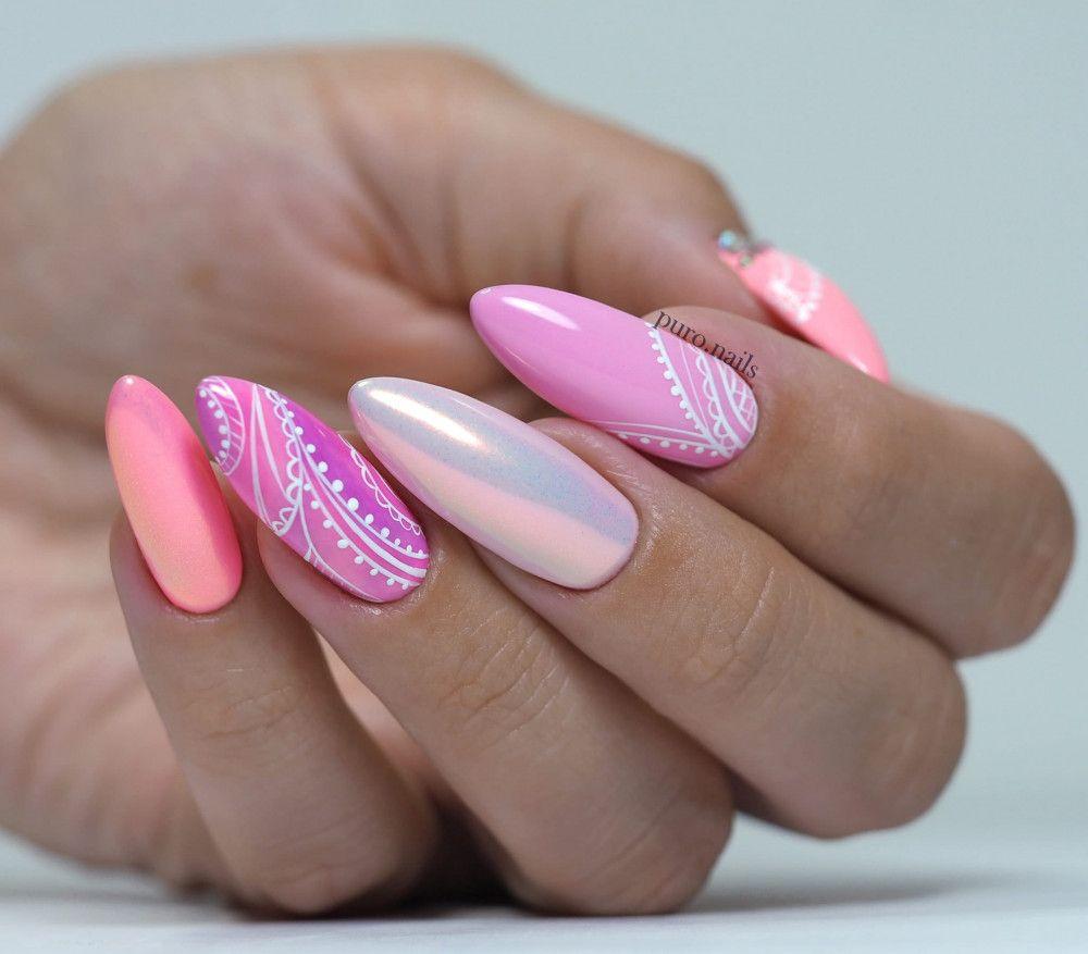Aurora Efekt Diamondnails Nail Art Shop Prodej Luxusnich Ozdob A Pomucek Na Nehty