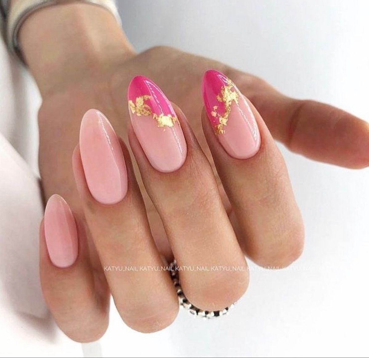 Pin By Ajuse Zizkova On Unitas In 2020 Short Acrylic Nails Stylish Nails Pink Nails