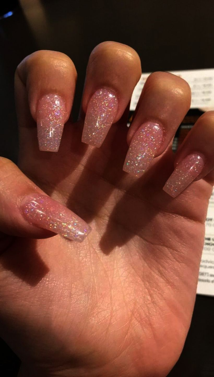 Matte Color Nails Pink Nail Career Education Acry In 2020 Gelove Nehty Nehty Kutilstvi
