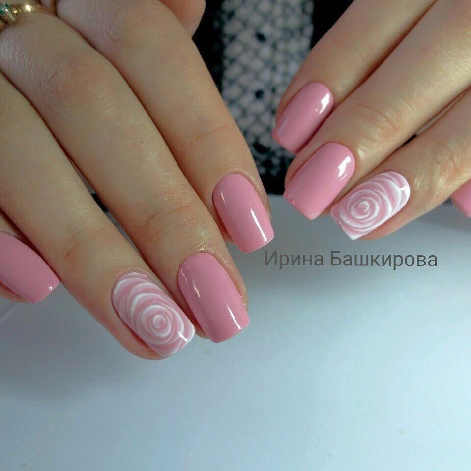 55 Best Simple Nail Art Designs For 2019 Lady In 2020 Gelove Nehty Design Nehtu Zelene Nehty