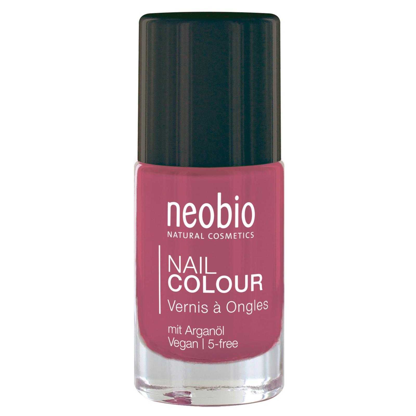 Biooo Cz Neobio Lak Na Nehty 04 Lovely Hibiscus 8 Ml
