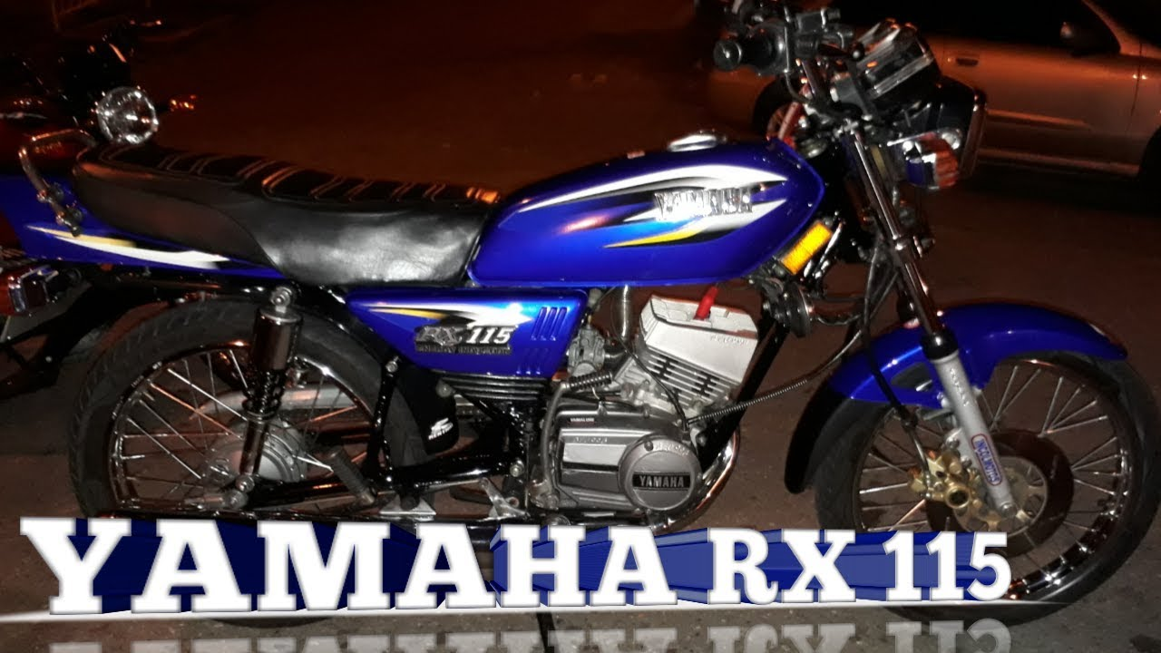 La Moto Que Silva Yamaha Rx 115 Passion2wheels Youtube