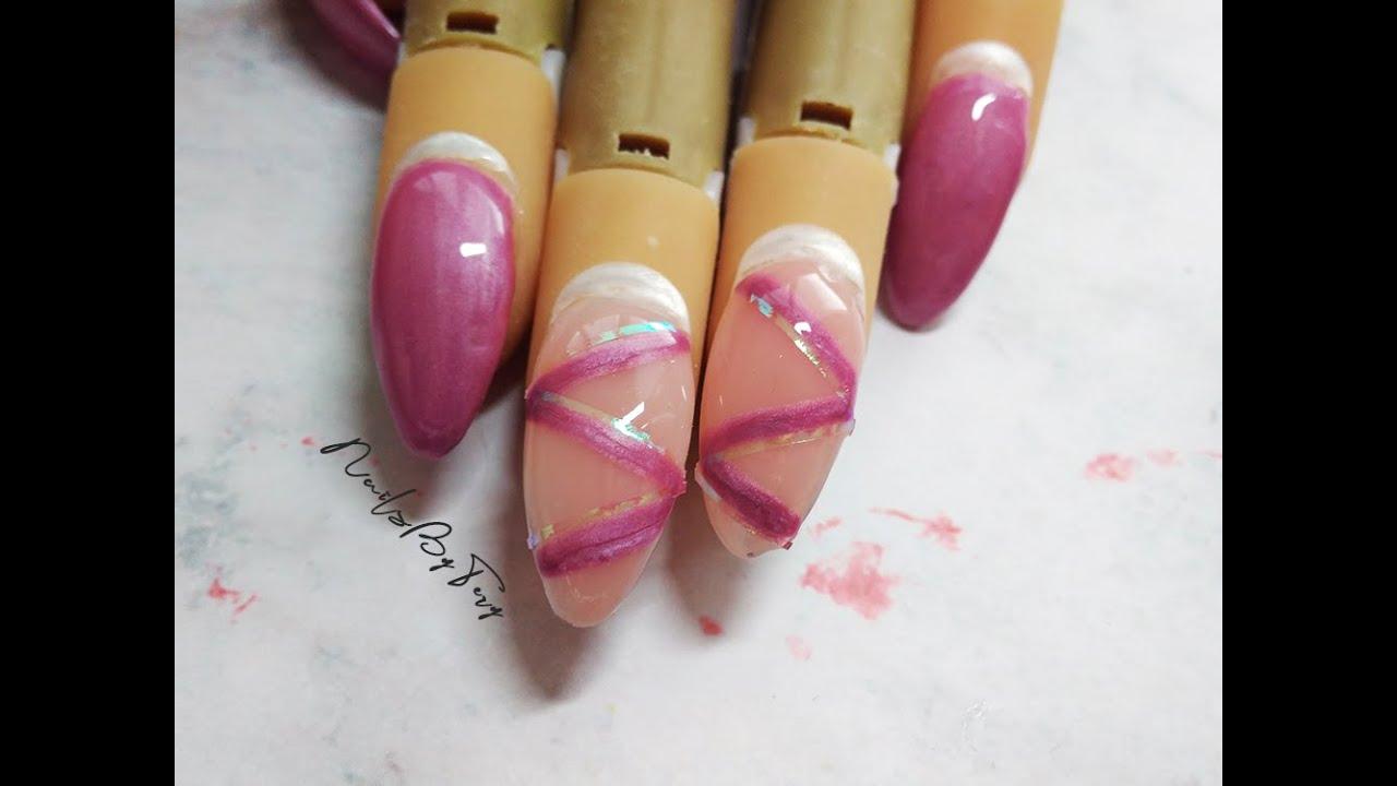 Gelove Nehty Pasky Z Nani Nails Nailsbytery Youtube