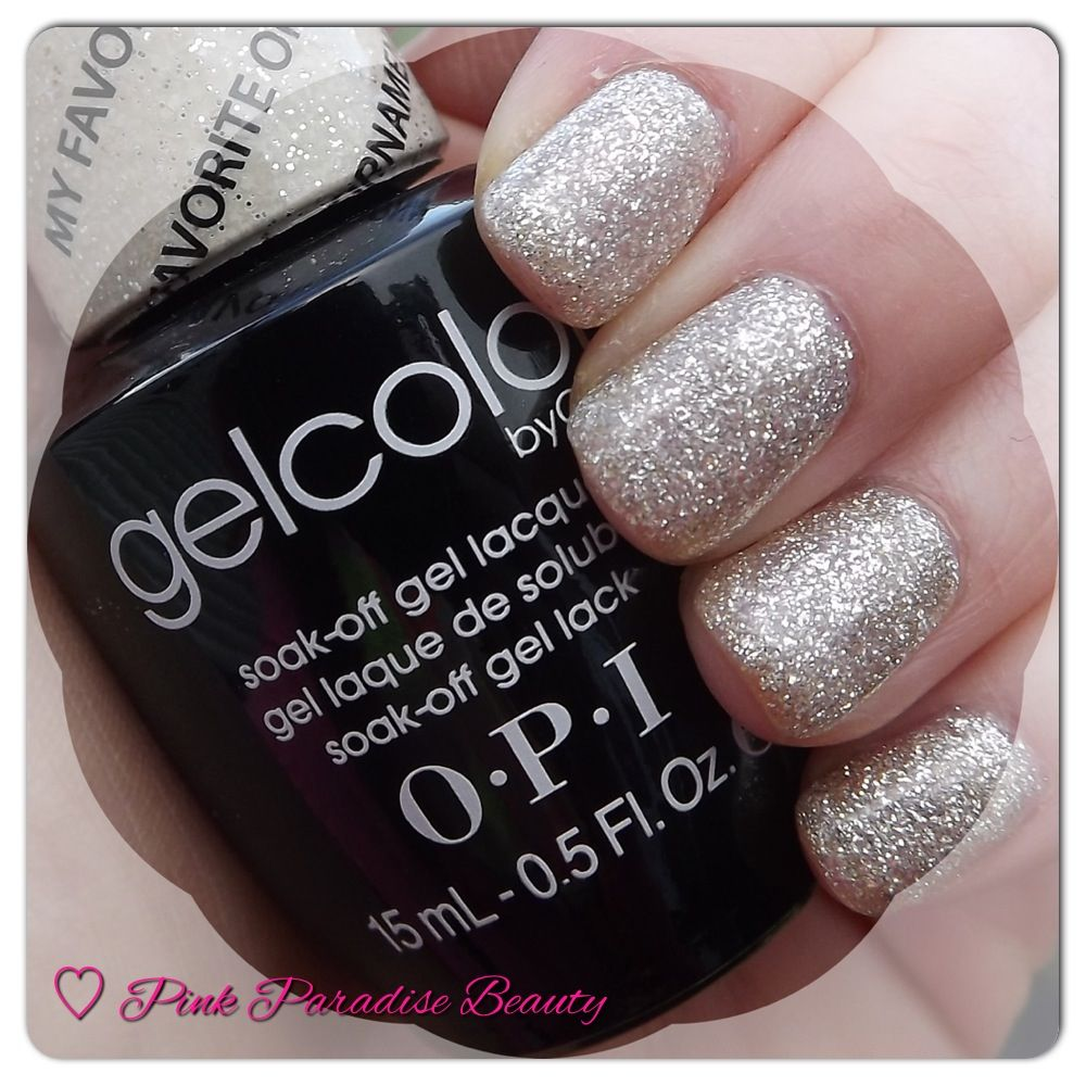 O P I Gelcolor In My Favourite Ornament From The Mariah Careh Holiday Collection