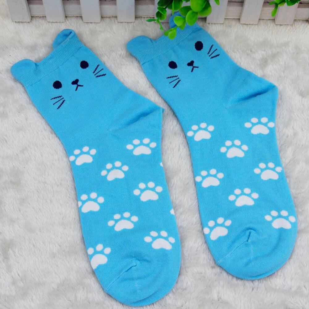 Velkoobchodcesko Cz Kocici Ponozky Modre