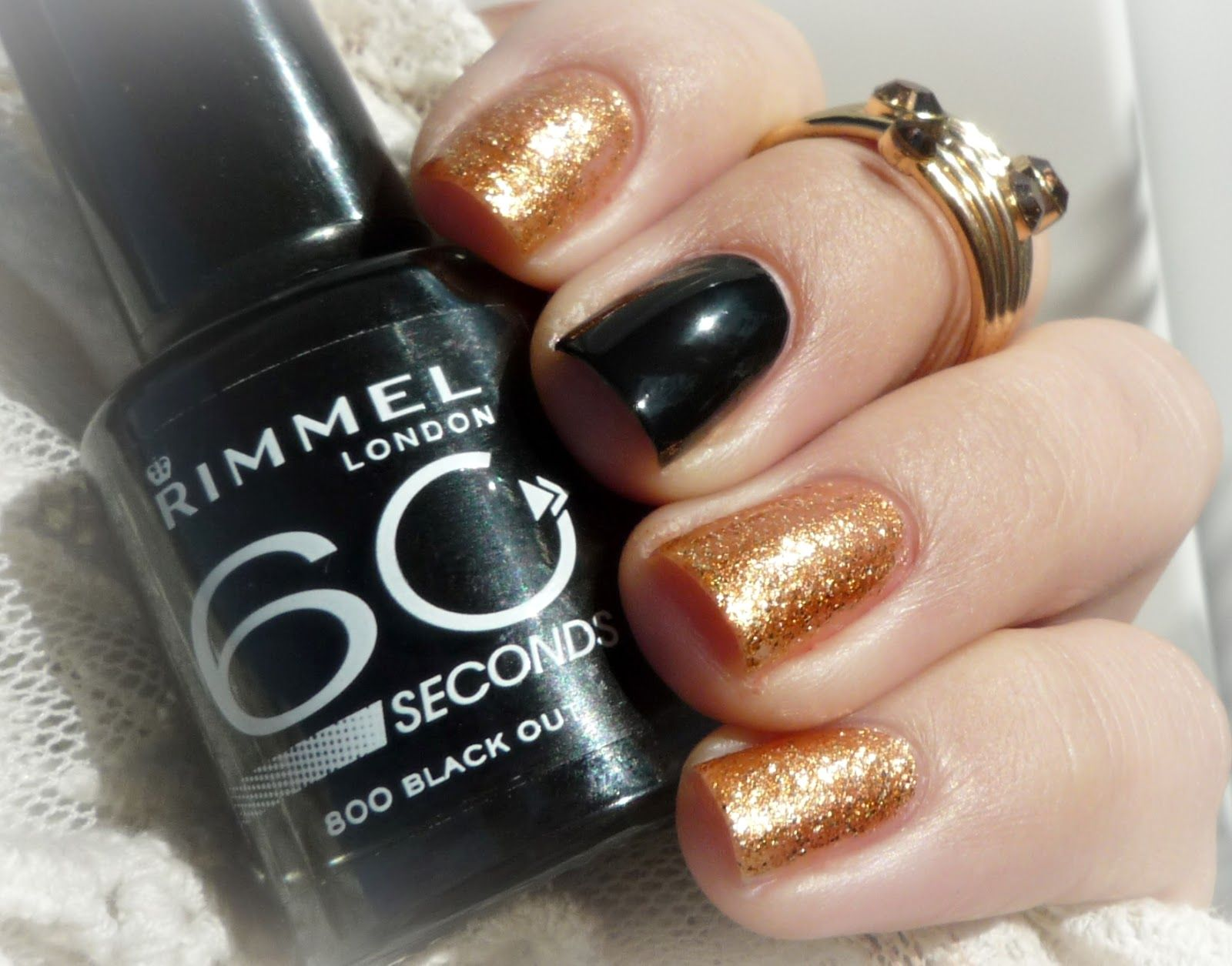 Miss Sporty Oh My Gem C 001 S Rimmel 800 Black Out With Images Bezova Cerna
