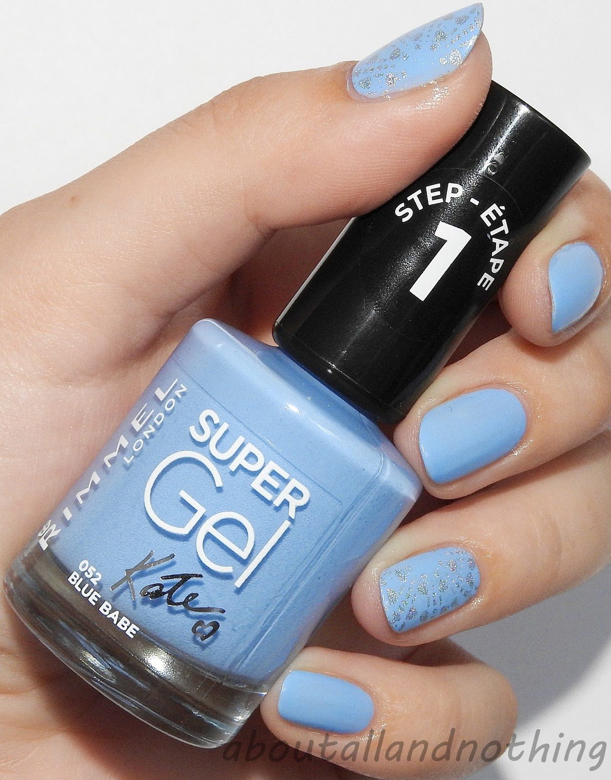 Rimmel Super Gel 052 Blue Babe