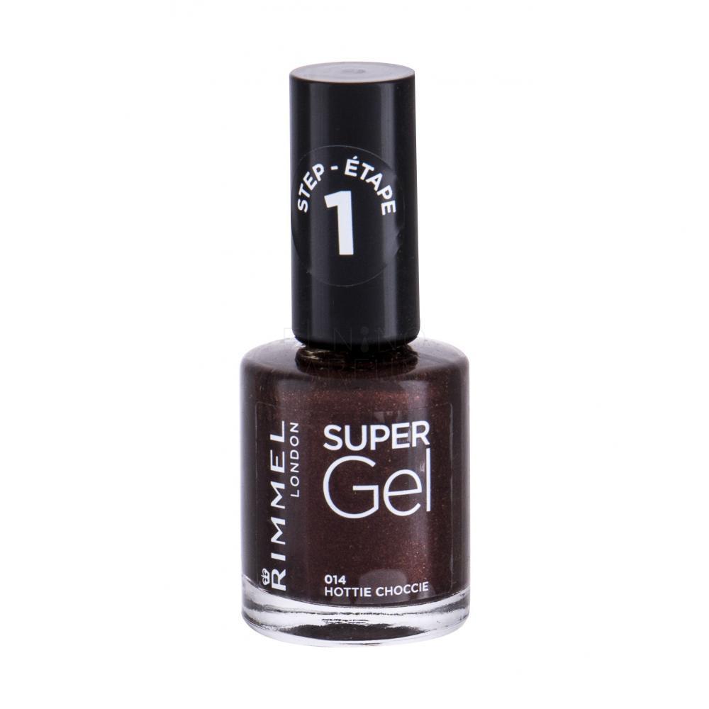 Rimmel London Super Gel Step1 Lakiery Do Paznokci Dla Kobiet Elnino Parfum