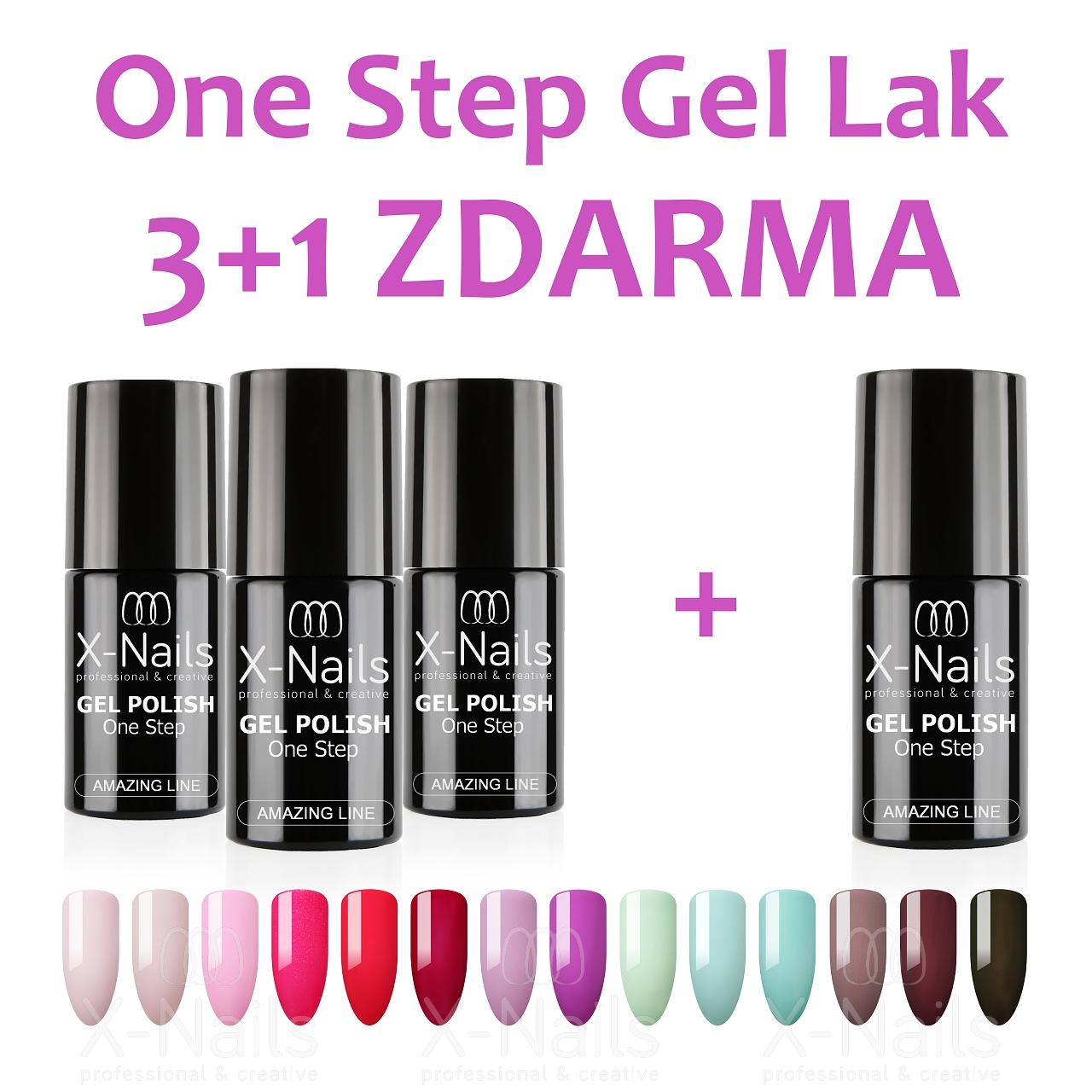 Jednofazove Gel Laky One Step Gel Laky 3 V 1 X Nails