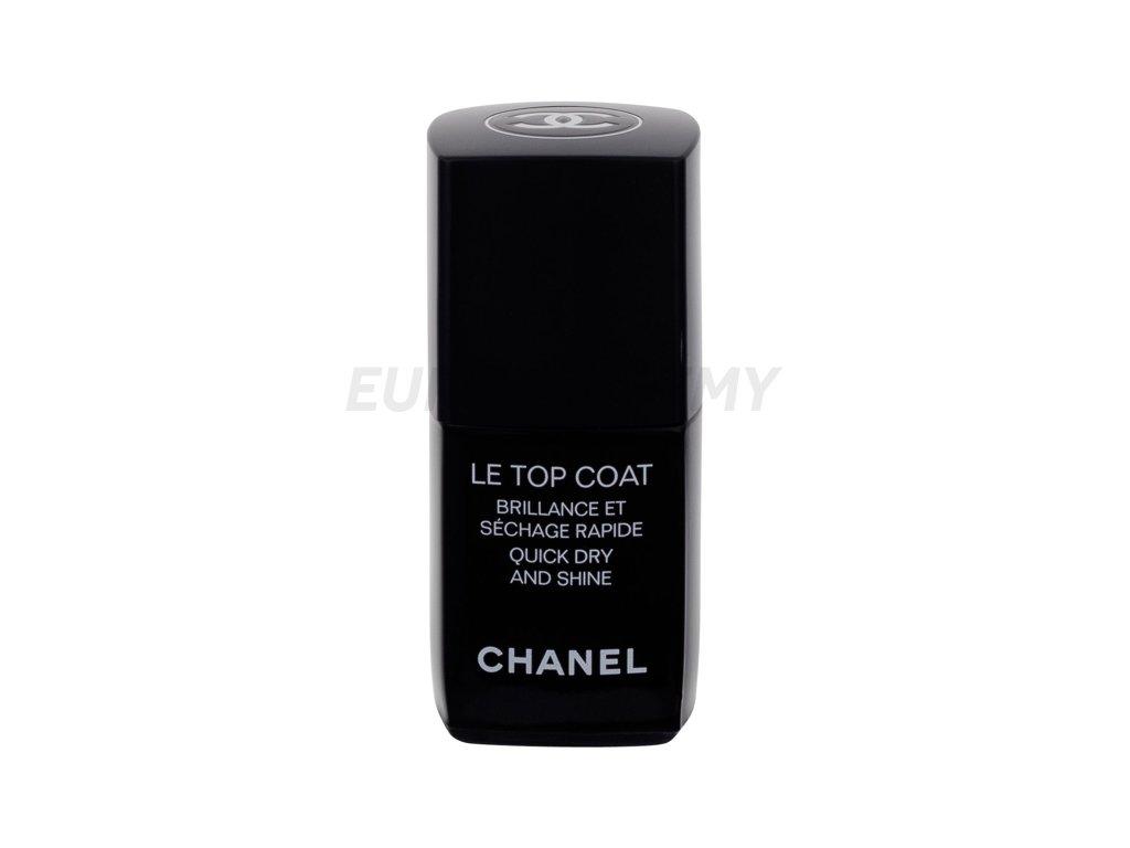 Chanel Le Top Coat Lak Na Nehty Europarfemy Cz