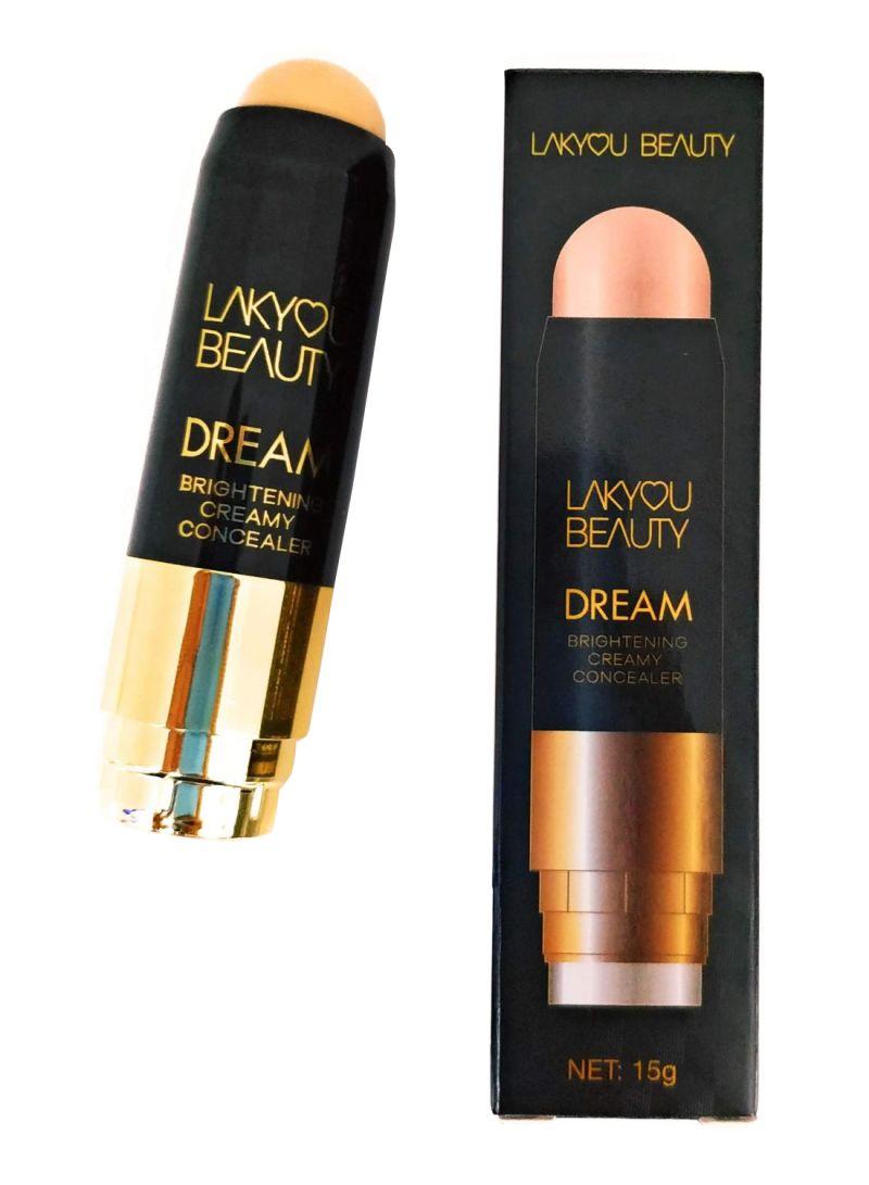 Shop Lakyou Beauty Dream Brightening Creamy Concealer Stick With Brush Beige Online In Riyadh Jeddah And All Ksa