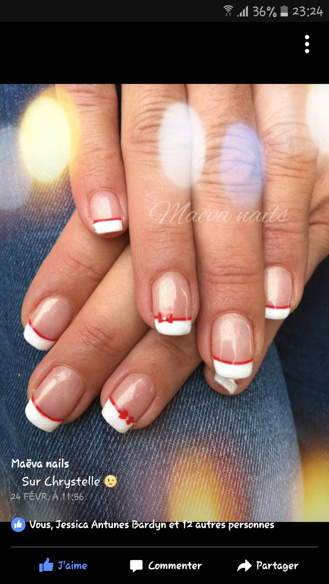French Manucure Rouge Blanc Ongles Pour Mariage Manucure Rouge Manucure