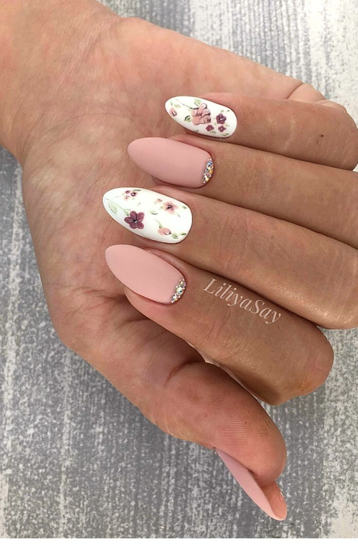 100 Nail Designs To Try This Season Ladystyle In 2020 Akrylove Nehty Nehty