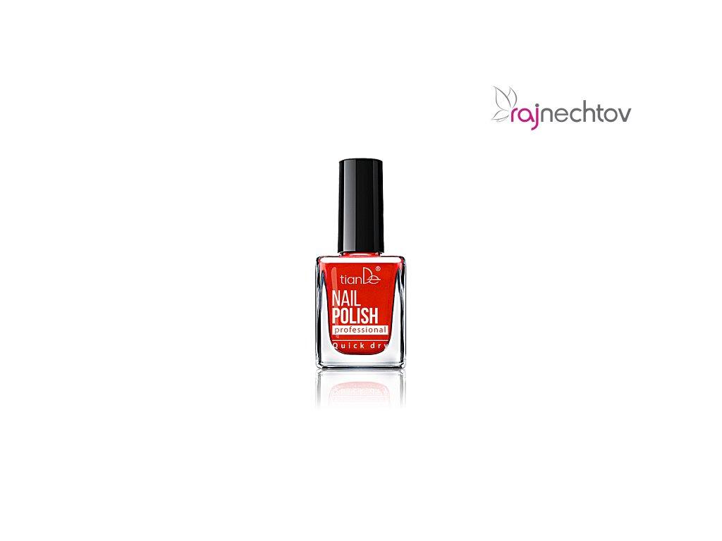Tiande Lak Na Nehty Ton 02 Pure Red 10ml Raj Nechtov
