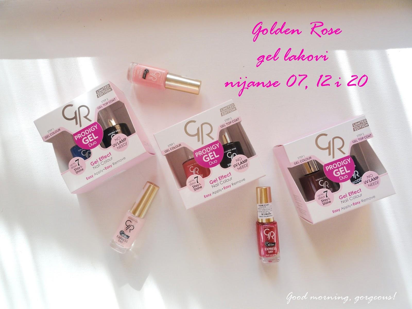 Good Morning Gorgeous Golden Rose Lakovi Sa Efektom Gela