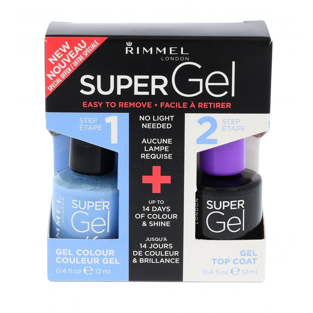Rimmel London Super Gel By Kate Lakiery Do Paznokci Dla Kobiet Elnino Parfum